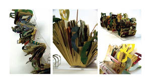 altered book documentation by palindromenoise