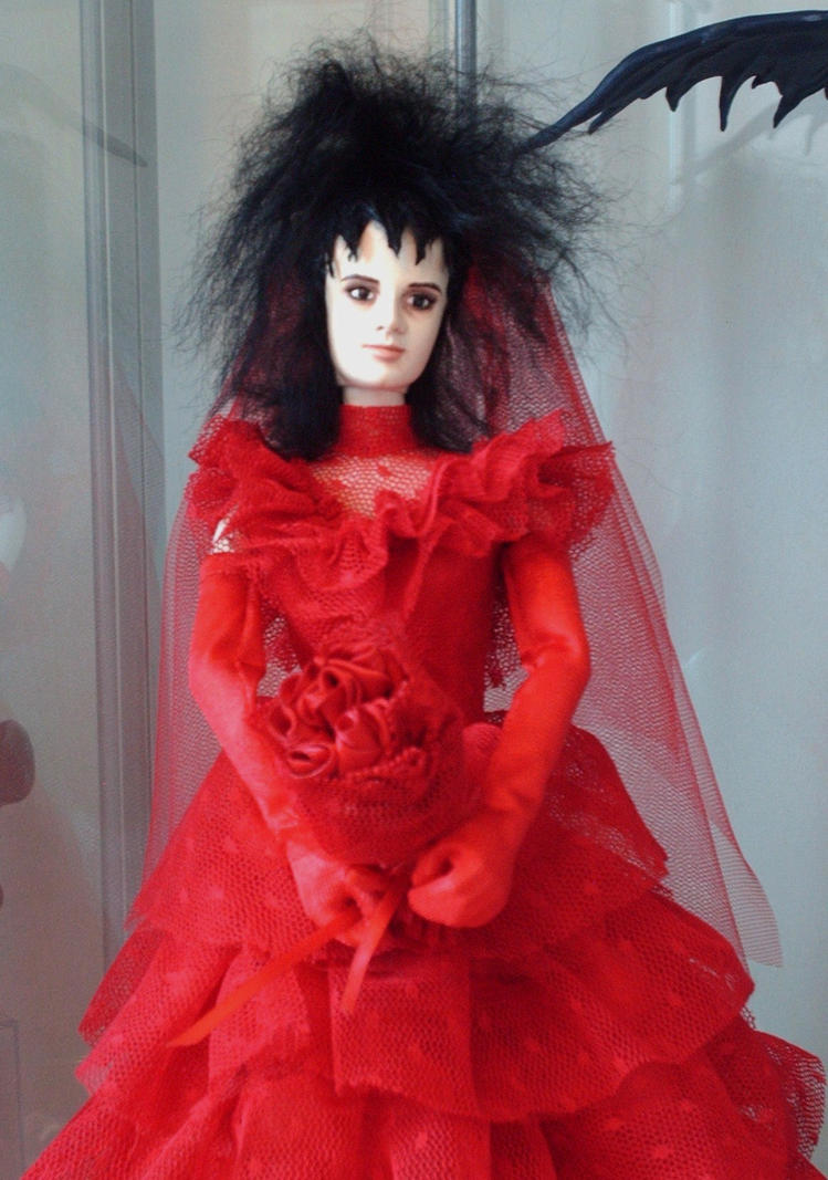 Beetlejuice Lydia Deetz custom figure by Shan-Lan on DeviantArt