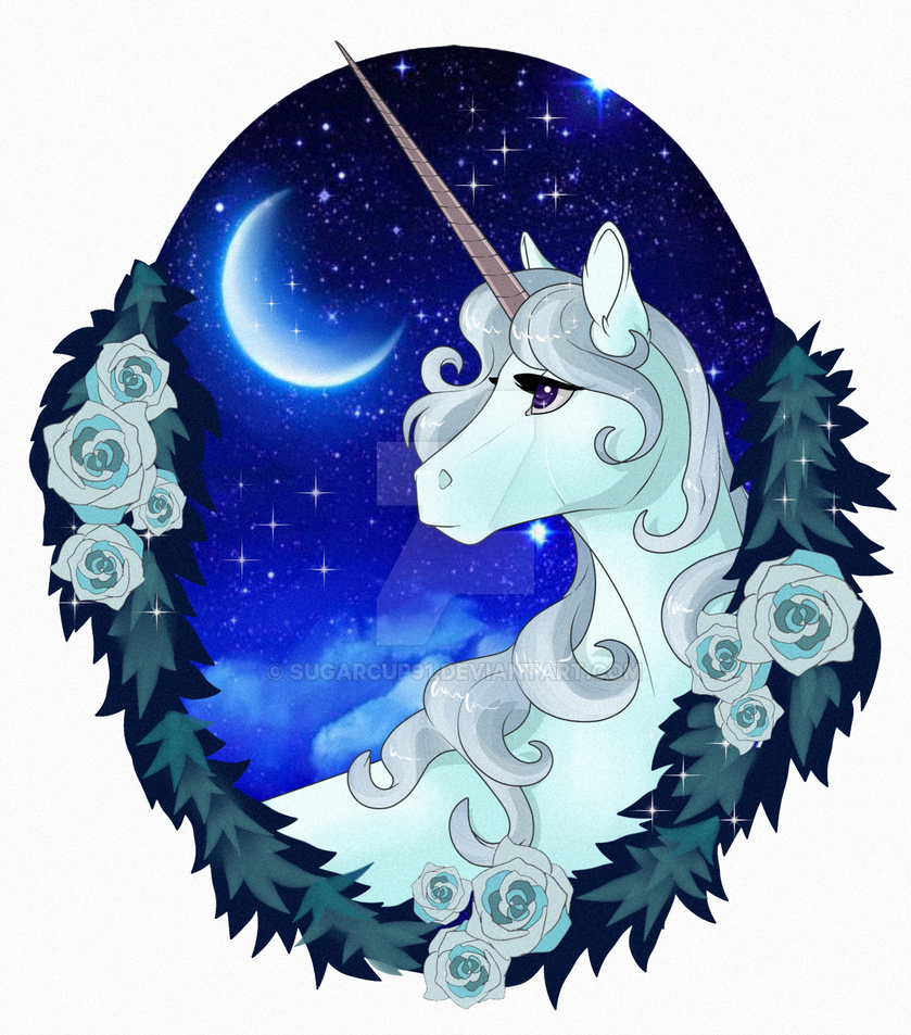 The Last Unicorn by Sugarcup91