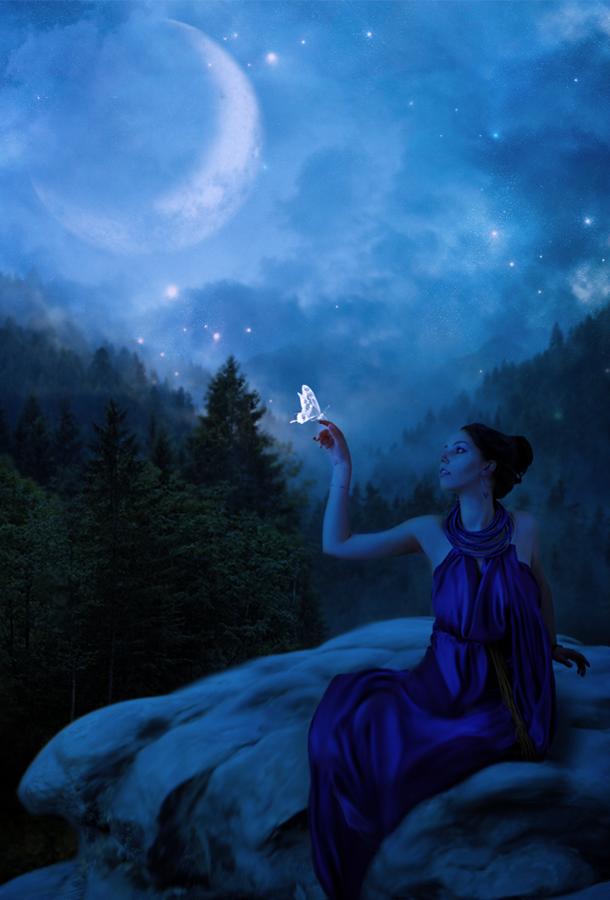 Moonlight Flight by FantasyMuse