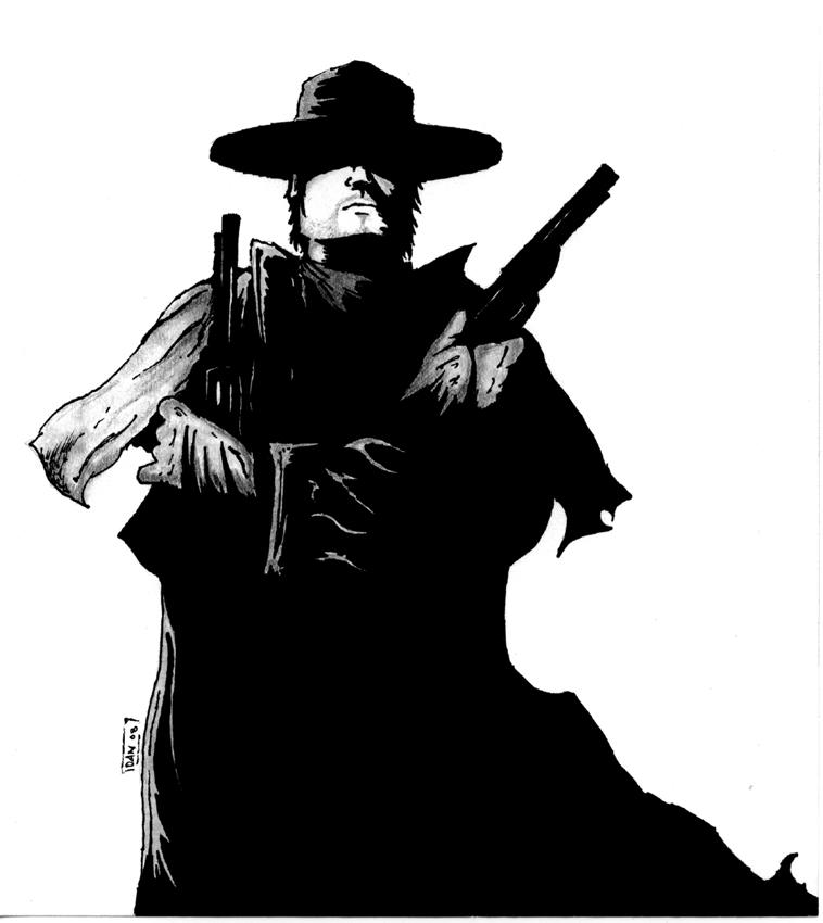 The Gunslinger by gasolinedragon