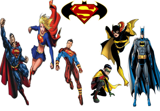 Supers and Bats by Thrubardockeyes on DeviantArt