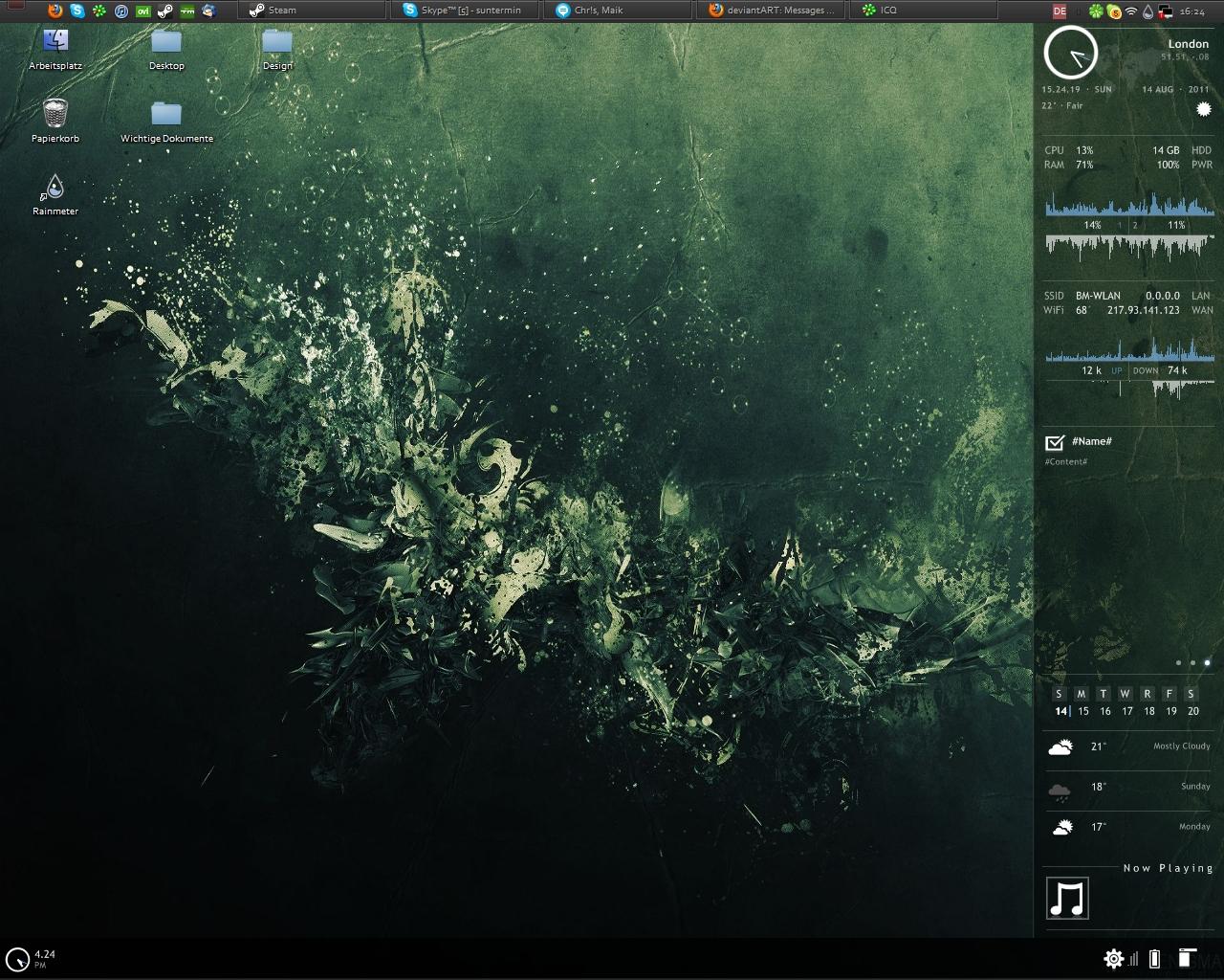 My Desktop - UPDATE by Enigz
