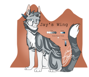   Jay's Wing   #005   by PandichDESIGNS
