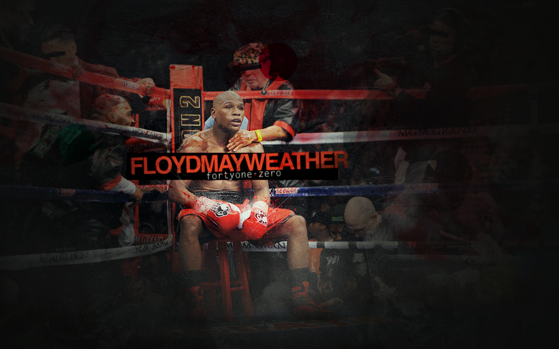 floyd mayweather by adhdgraphics