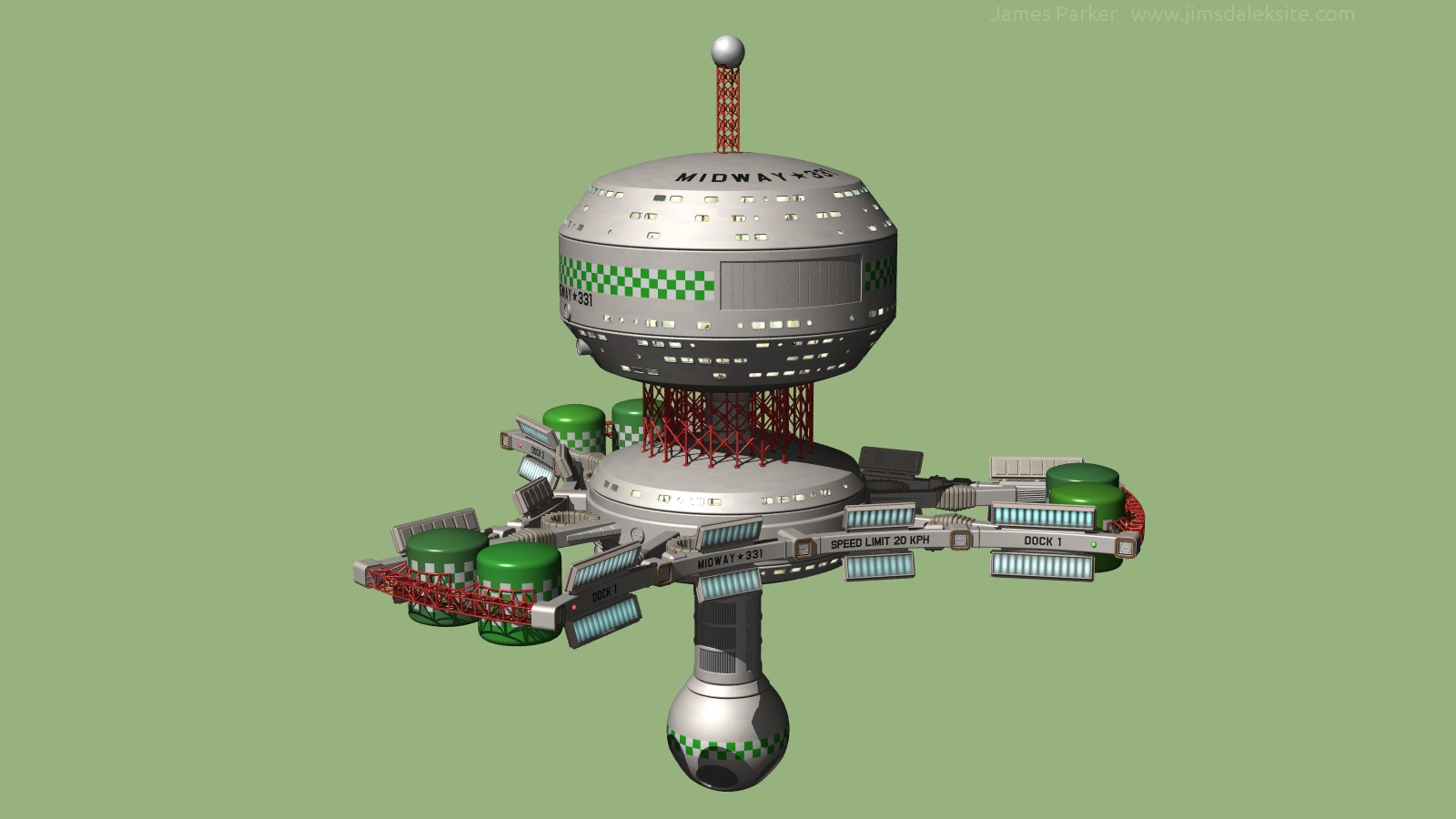 WIP small space station #3 by Jim197