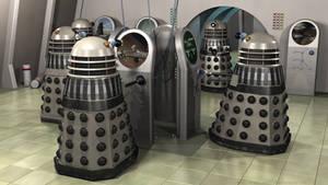 Dalek Operations Room