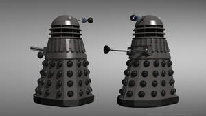 Day of the Daleks - Grey Dalek reimagined by Jim197
