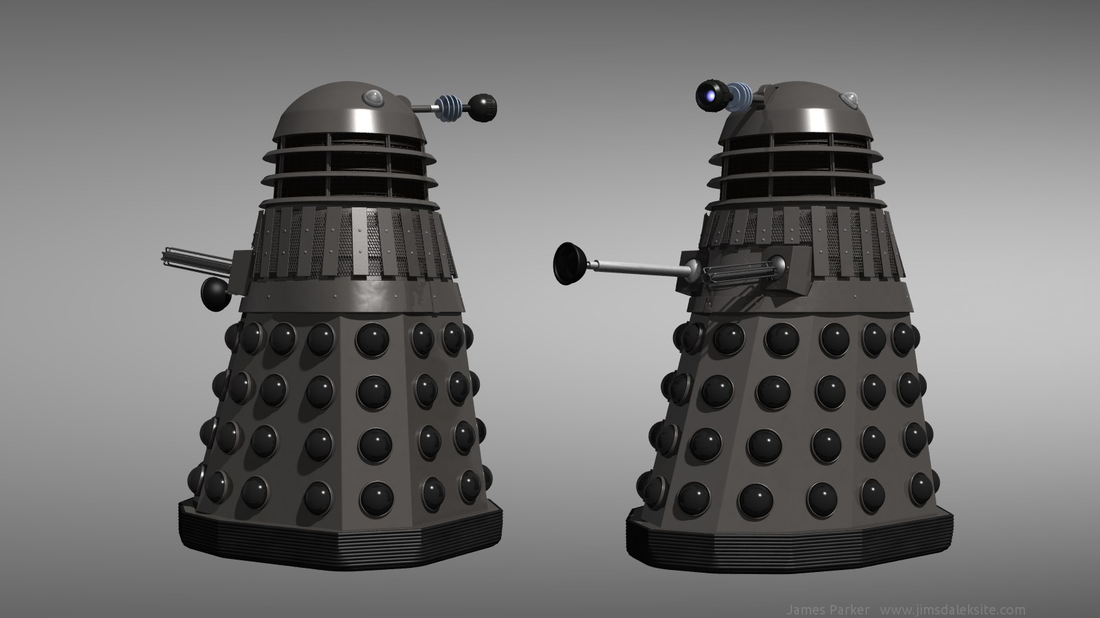 Day of the Daleks - Grey Dalek reimagined by Jim197 on DeviantArt