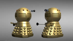 TV21 Golden Emperor Dalek by Jim197