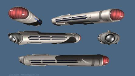 WIP large post-TOS warp engine