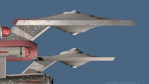 WIP USS Explorer primary hull