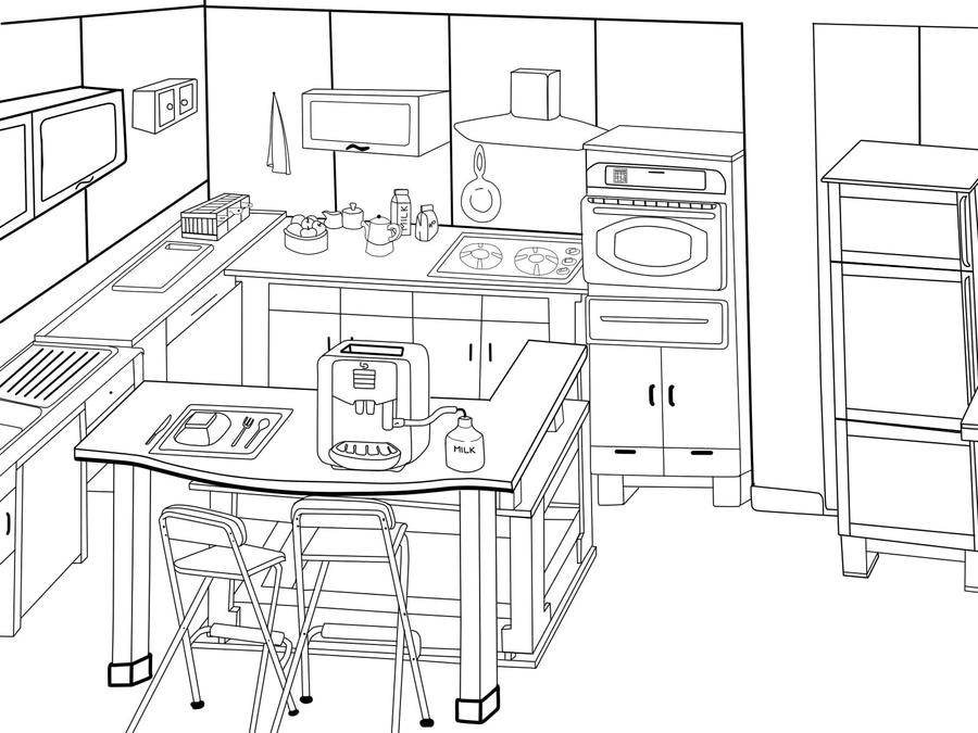 My kitchen set design lol by kidrauhl66 on deviantart for Kitchen set drawing