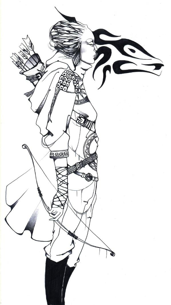 Artemis by BelovedofAmun