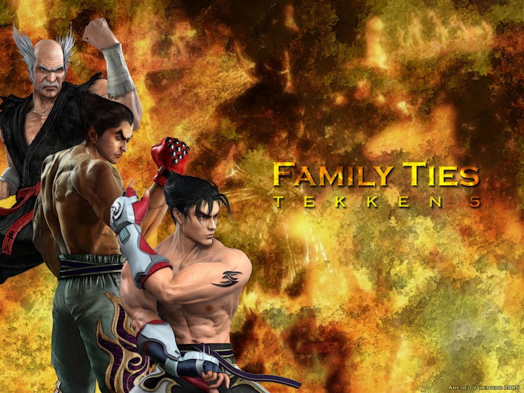 tekken 5 family ties wallpaperamedeo on deviantart