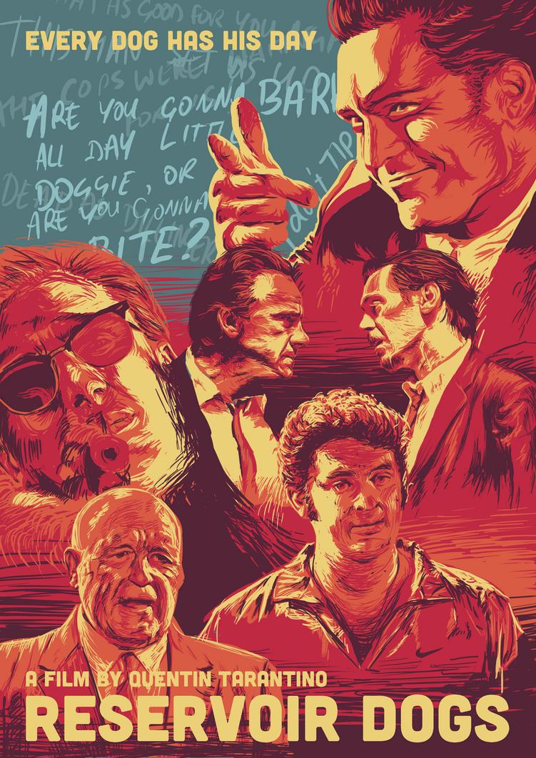 Alternate Movie Poster Designs For Tarantino S Reservoir Dogs