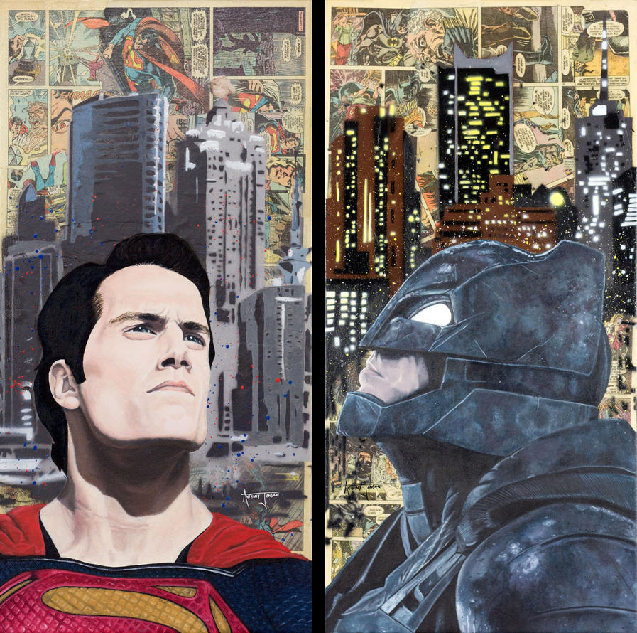 Batman v. Superman by Anthonyjensen