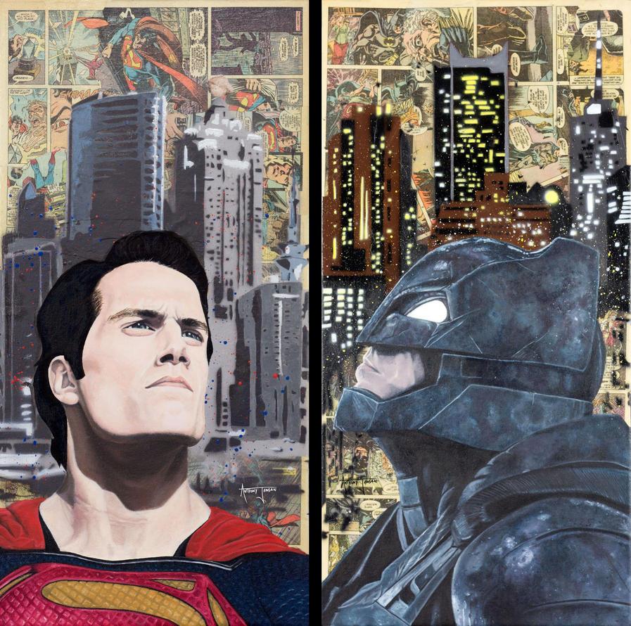 Batman v. Superman by Anthonyjensen