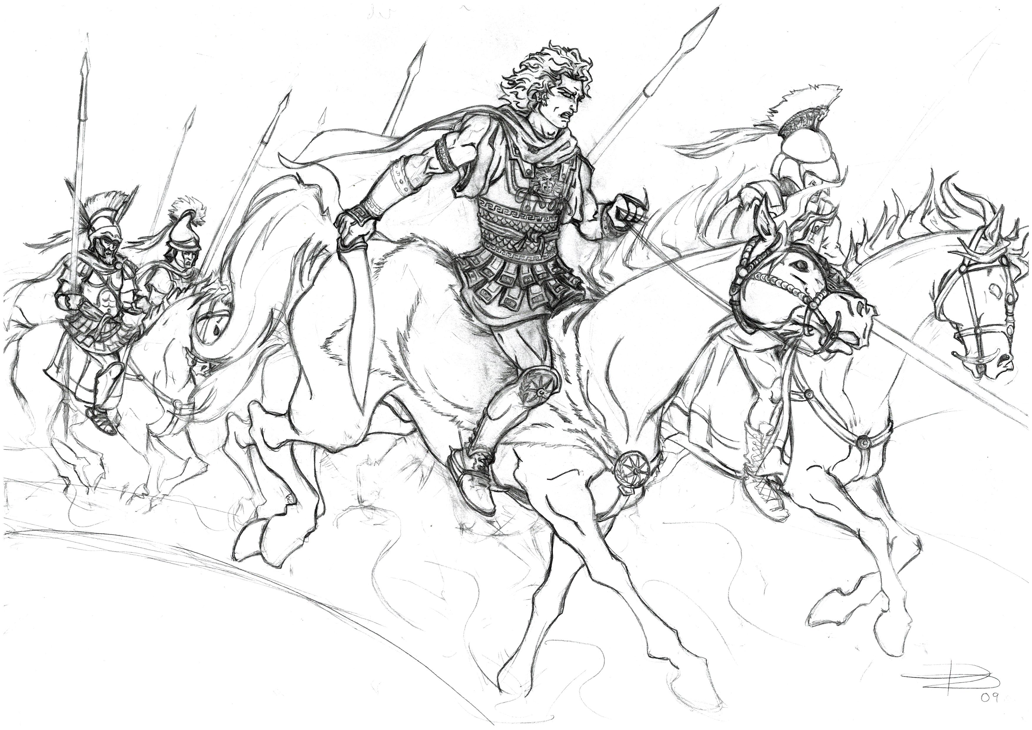 battle of gaugamala alexander the great essay