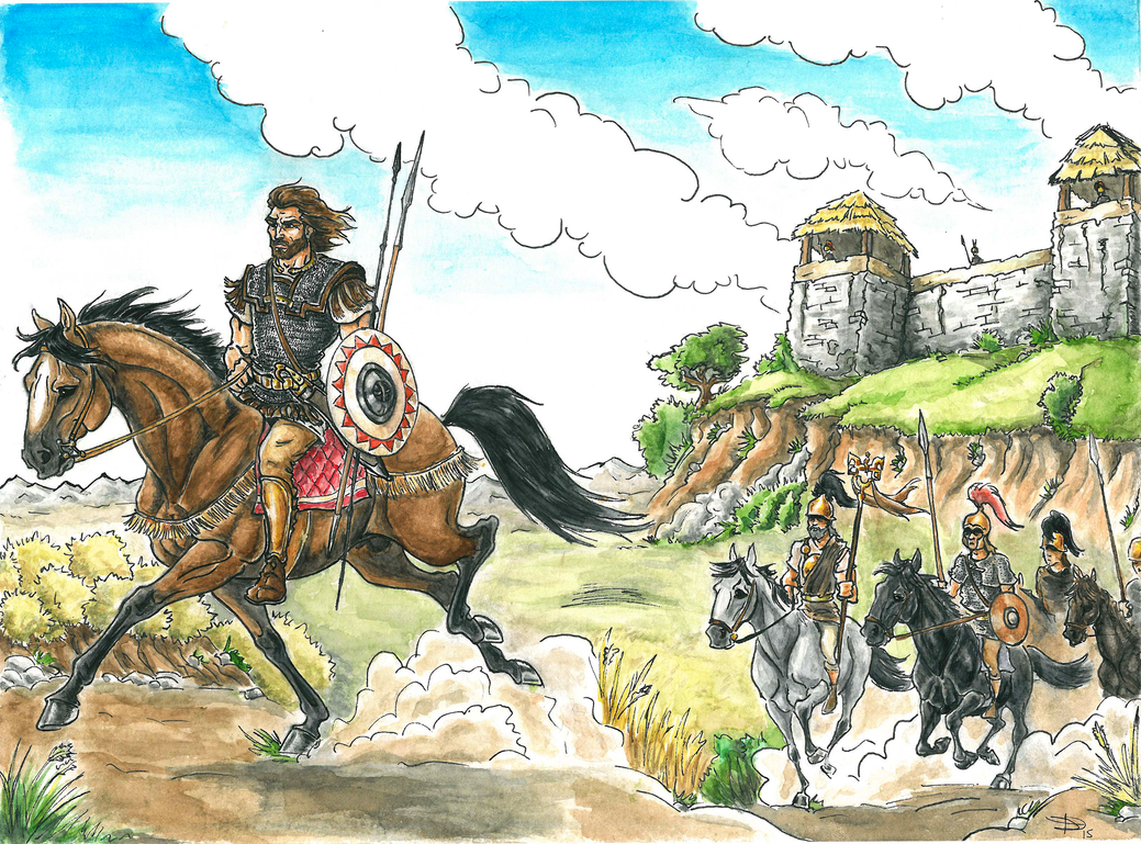 Celtiberian War Band. by Dgarauz