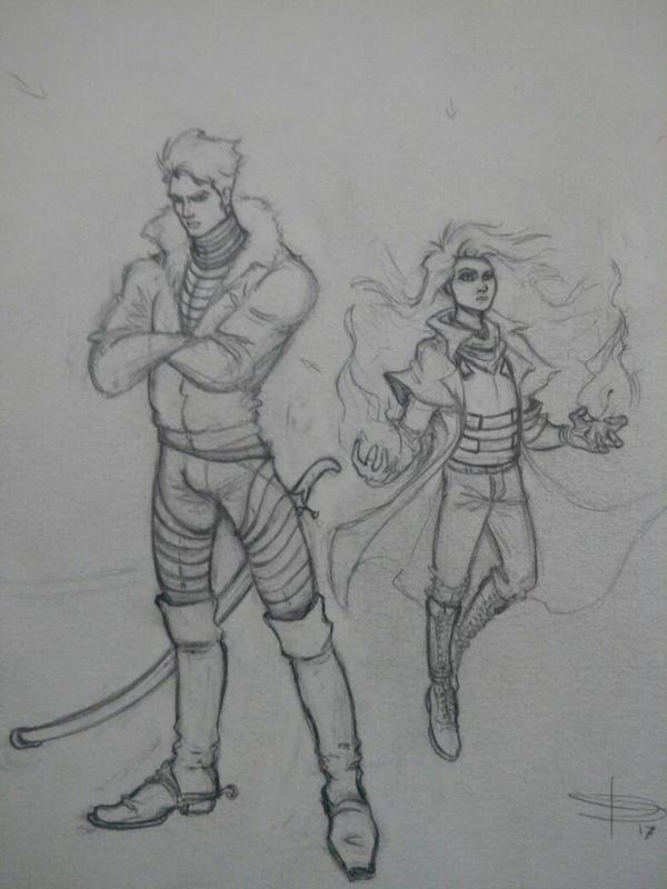 Postapocalyptic Warrior  by Dgarauz