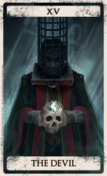 Bloodborne tarot XV by Wingless-sselgniW