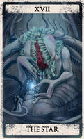 Bloodborne tarot XVII by Wingless-sselgniW
