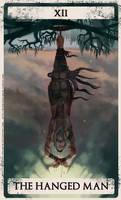 Bloodborne tarot XII by Wingless-sselgniW