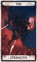 Bloodborne tarot VIII by Wingless-sselgniW