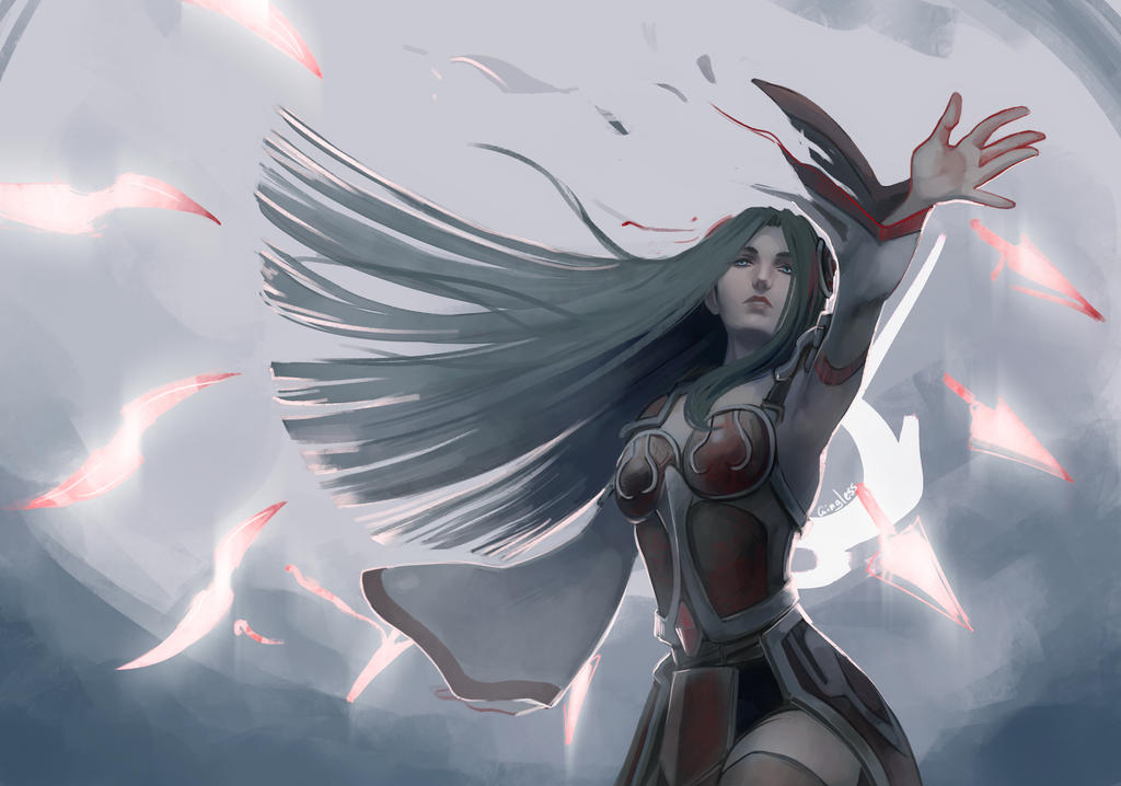 Irelia by Wingless-sselgniW