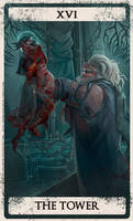 Bloodborne tarot XVI