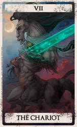 Bloodborne tarot VII