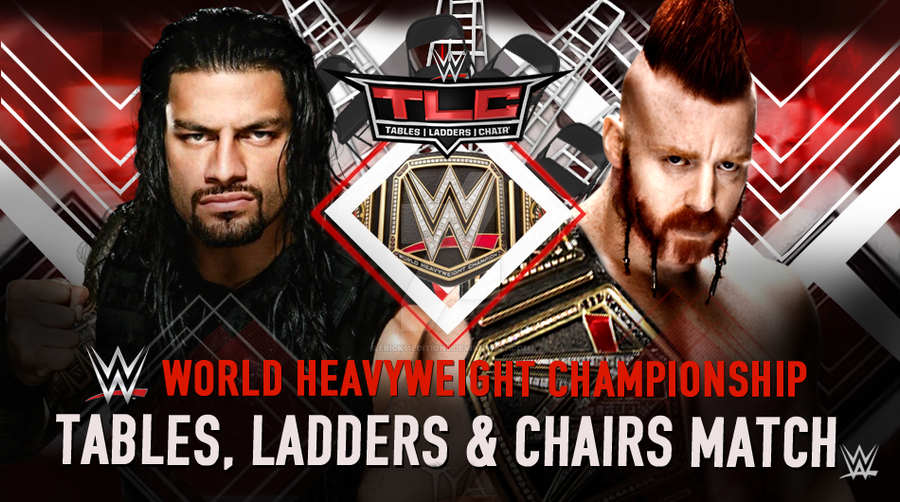 wwe tlc 2016 matches