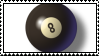 Pool Ball Stamp 09 by omnicatbus
