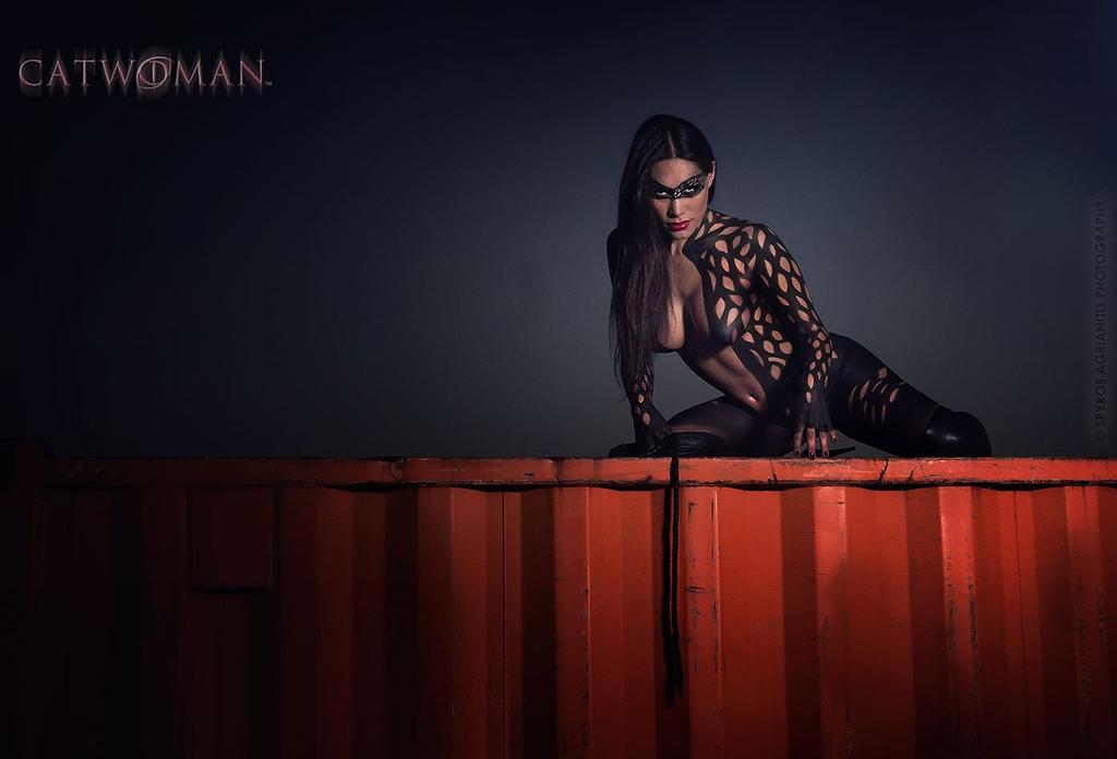 catwoman by ElizabethPetroumua