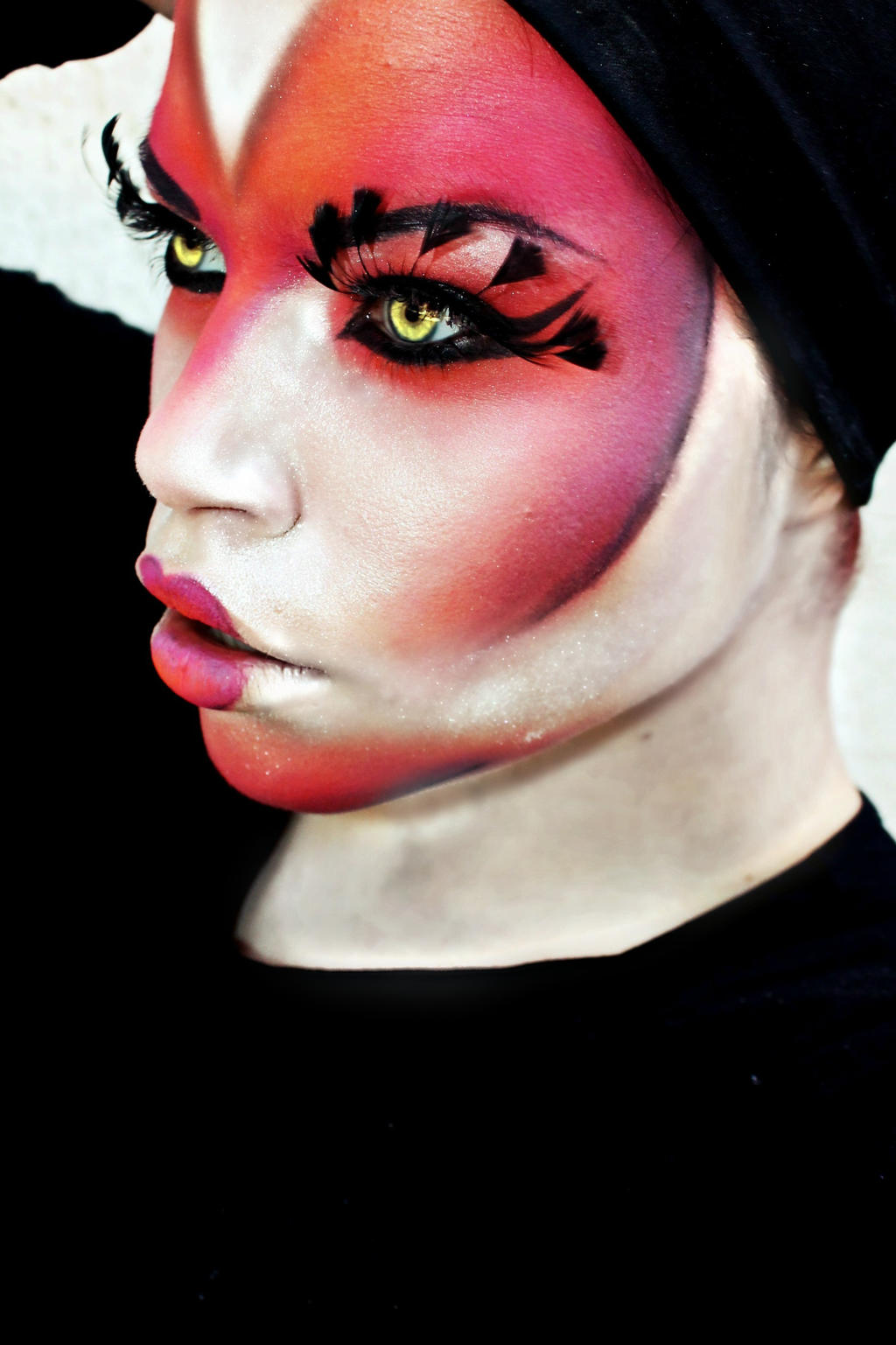 Face by ElizabethPetroumua