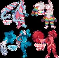 Candy Parade Nautipods (CLOSED) by KurokiKumo