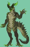 Semi-custom Toxic Croc by KurokiKumo