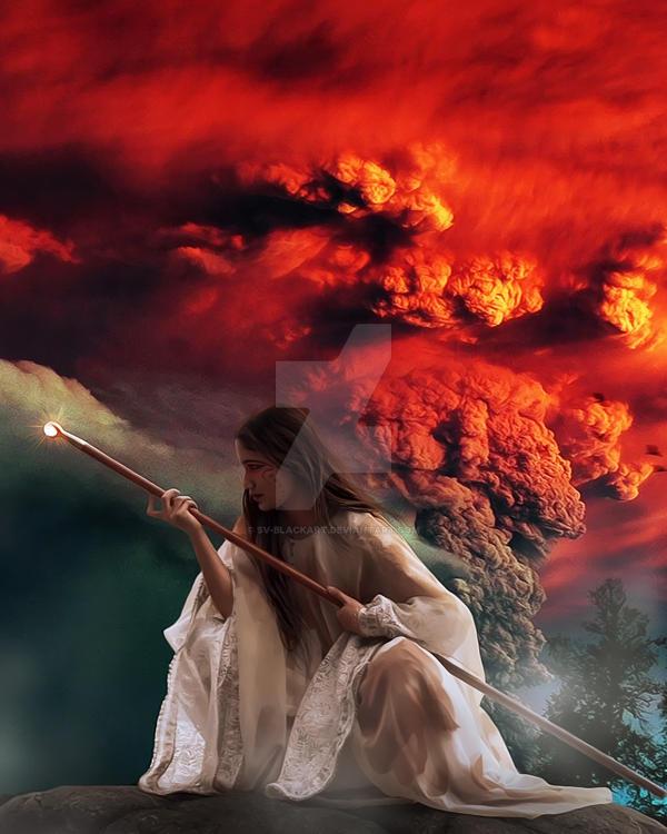Volcano Fairy by SV-Blackart