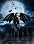 The Last Vampire by SV-Blackart