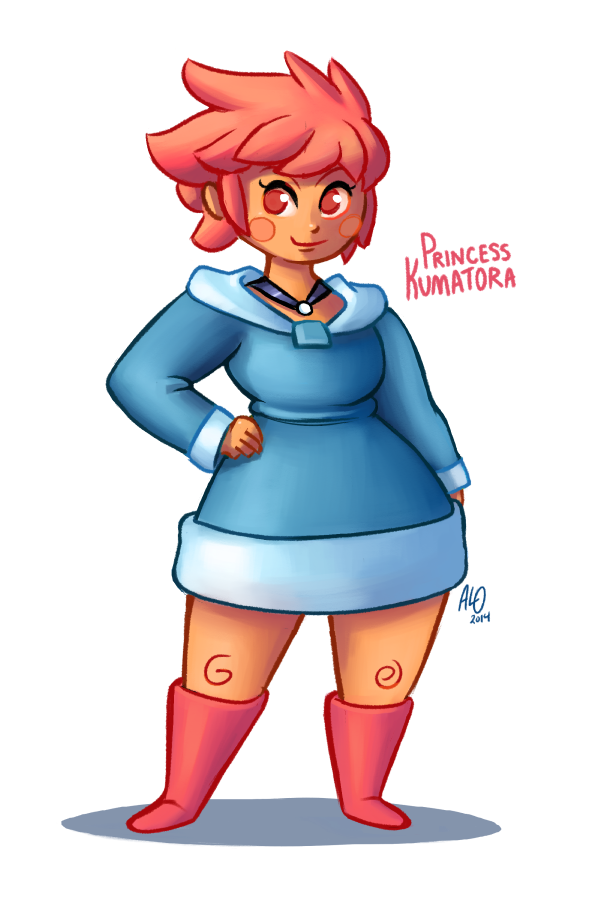 Princess Kumatora by AlOrozco
