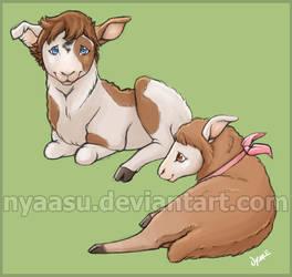 Denzel and Marlene - Lambs by Nyaasu