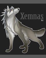 Xemnas - Saarlooswolfhund by Nyaasu