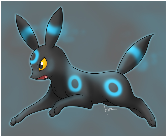 Shiny Umbreon by Nyaasu