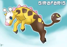 Girafarig by Nyaasu