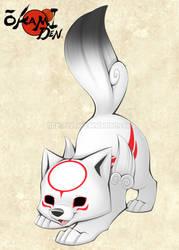 Chibiterasu - Play Bow by Nyaasu