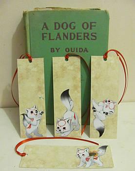 Okami bookmarks for sale!