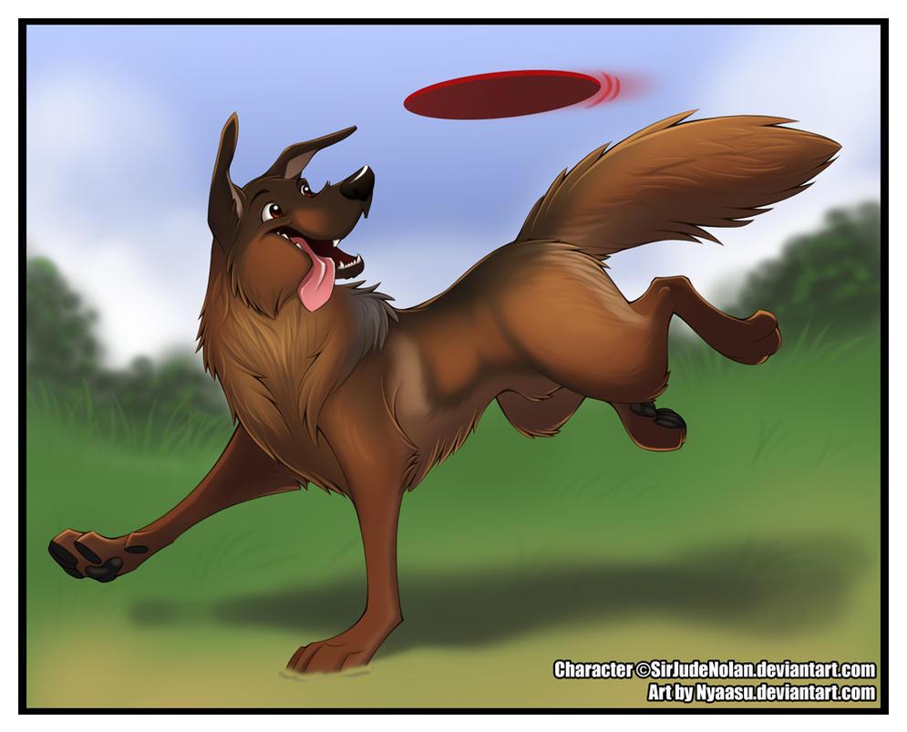 Why I draw \'sheaths\' on my dogs by Nyaasu on DeviantArt