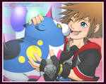 Sora and Meow Wow