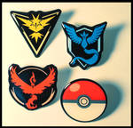Represent! Pokemon GO pins for sale! (RESTOCK) by Nyaasu